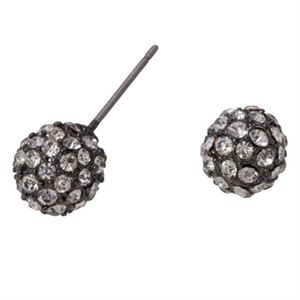 Picture of Graphite Crystal Pave Studs
